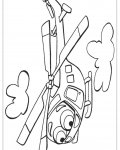 Helicopter Printable Coloring Pages