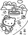 Hello Kitty Download coloring pages