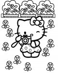 Hello Kitty Download and print coloring pages for kids