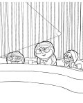 Inside Out Coloring Pages for boys