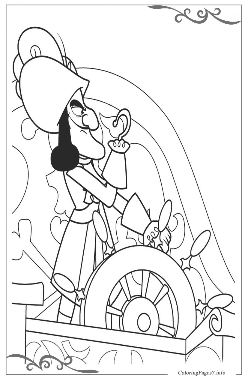 Jake and the never land pirates free coloring pages for kids for Jake the pirate coloring pages