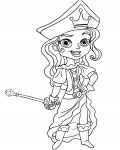 Jake and the Never Land Pirates Coloring Pages for boys