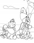 Jake and the Never Land Pirates Free coloring pages for boys
