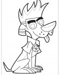 Johnny Test Online Coloring Pages for boys