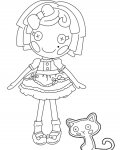 Lalaloopsy Coloring Page for your Little Ones