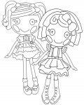 Lalaloopsy Printable coloring pages for girls
