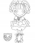 Lalaloopsy Online Coloring
