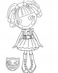 Lalaloopsy Free printable coloring pages