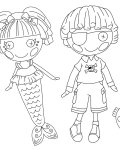 Lalaloopsy Online Coloring Pages for girls