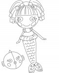 Lalaloopsy Coloring Pages for Kids