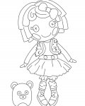 Lalaloopsy Download coloring pages