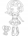 Lalaloopsy Download and print coloring pages for kids