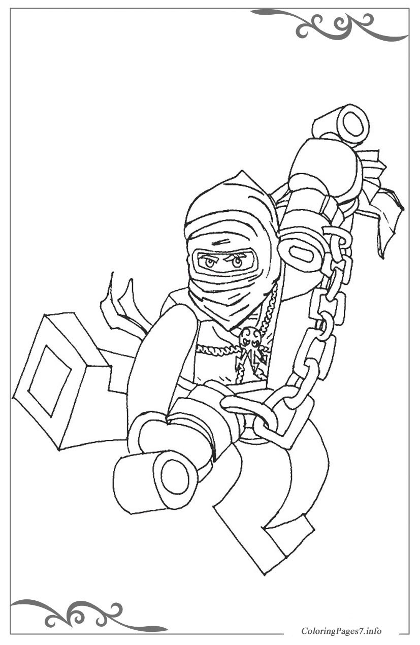 Lego Ninjago Free Online Coloring Pages