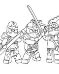 Lego Ninjago Free printable coloring pages
