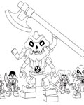 Lego Ninjago Free Coloring Pages
