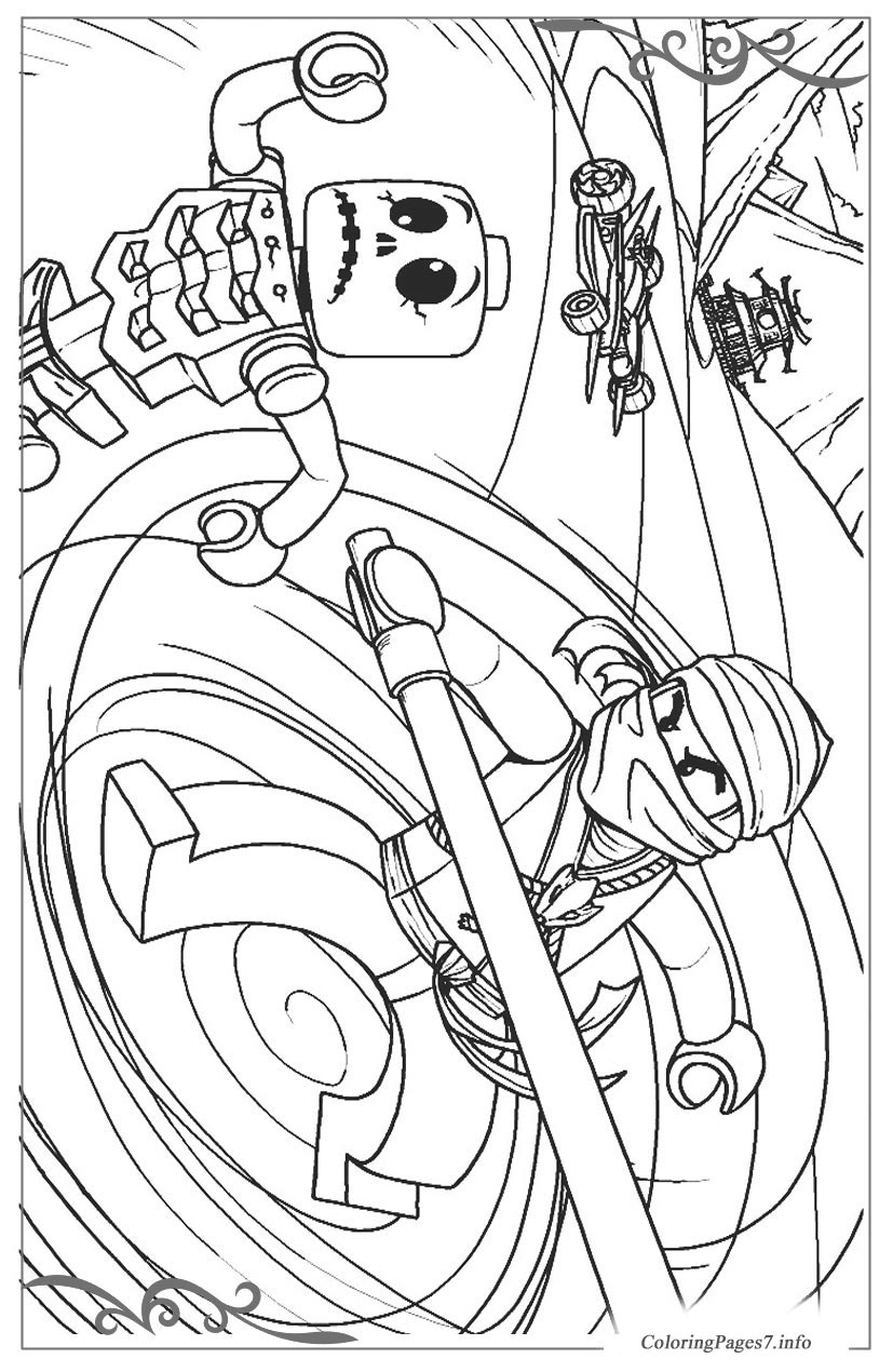 Lego Ninjago Download Coloring Pages For Kids