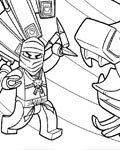 Lego Ninjago Download and print coloring pages for kids