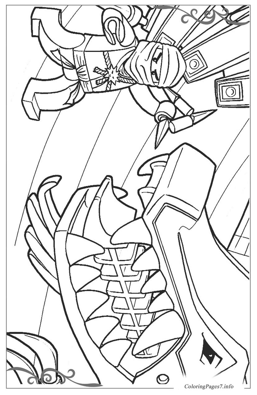 lego ninjago download and print free coloring pages for kids