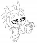 Littlest Pet Shop Online Coloring Pages for girls