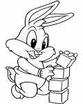 Looney Tunes Printable coloring pages for girls