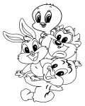 Looney Tunes Coloring Pages for Kids