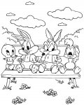 Looney Tunes Download and print coloring pages for kids