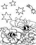 Maya the Bee Free Coloring Pages