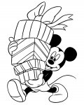 Mickey Mouse Coloring Page for your Little Ones