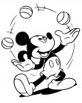 Mickey Mouse Printable coloring pages for girls