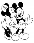 Mickey Mouse Printable coloring pages online