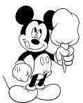Mickey Mouse Online Coloring Pages for boys