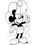 Mickey Mouse Online Coloring Pages for girls