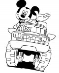 Mickey Mouse Coloring Pages for boys