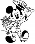 Mickey Mouse Free coloring pages for boys