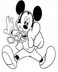 Mickey Mouse Download coloring pages