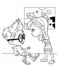 Mr. Peabody & Sherman Coloring Page for your Little Ones