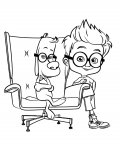 Mr. Peabody & Sherman Free Coloring Pages