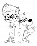 Mr. Peabody & Sherman Coloring Pages for Kids