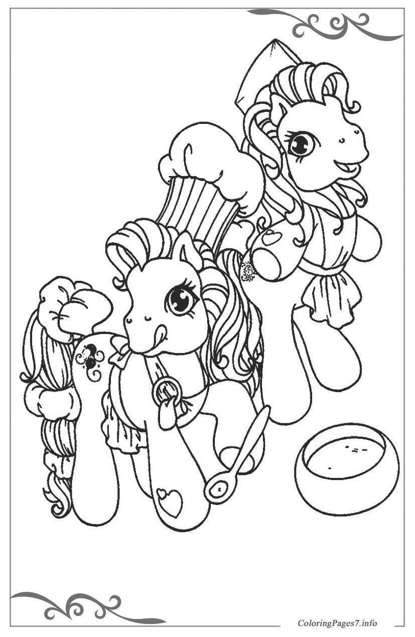 My little pony free printable coloring pages for children for My little pony coloring pages to print out