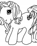 My Little Pony Coloring page template printing