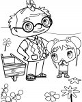 Ni Hao, Kai-Lan Coloring Page for your Little Ones