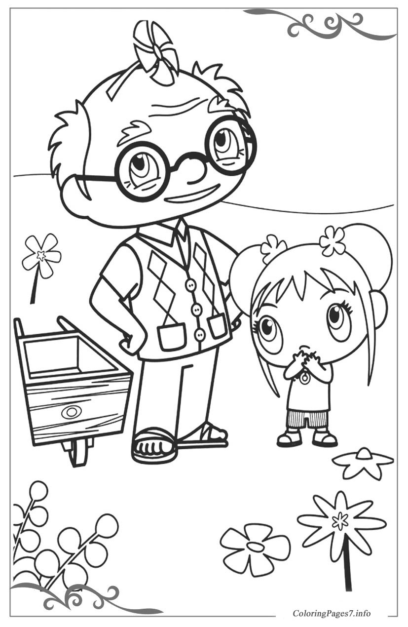 ni hao kailan download coloring page for your little ones