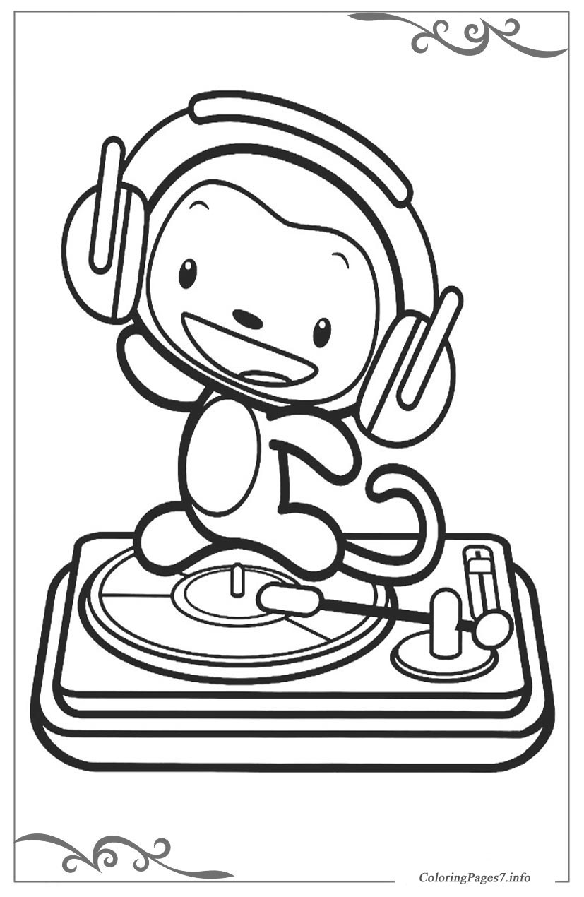 ni hao kailan free printable coloring pages for children