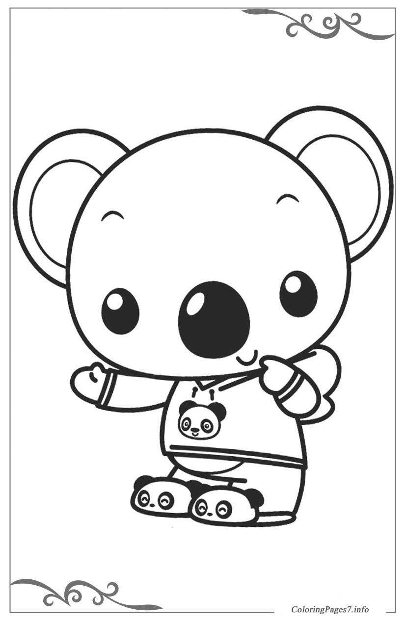 ni hao kailan free coloring pages for kids