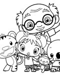 Ni Hao, Kai-Lan Coloring Pages for Kids