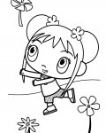 Ni Hao, Kai-Lan Download coloring pages