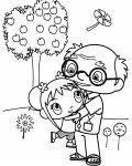 Ni Hao, Kai-Lan Download and print coloring pages for kids