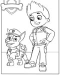 PAW Patrol Coloring Page for your Little Ones