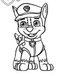 PAW Patrol Сoloring pages for girls