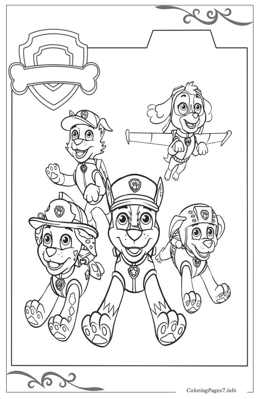 Paw Patrol Games Youtube Tag: Paw Patrol Print. 30 Outstanding Paw ... | 1270x827